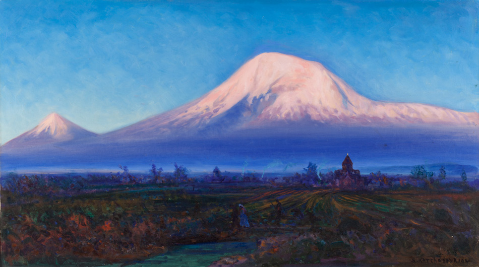 Paintings - More than 100 canvases and sculptures by prominent Armenian artists are in our collection, including seascapes by Hovhannes Aivazovsky and portraits by Hovsep Pushman.