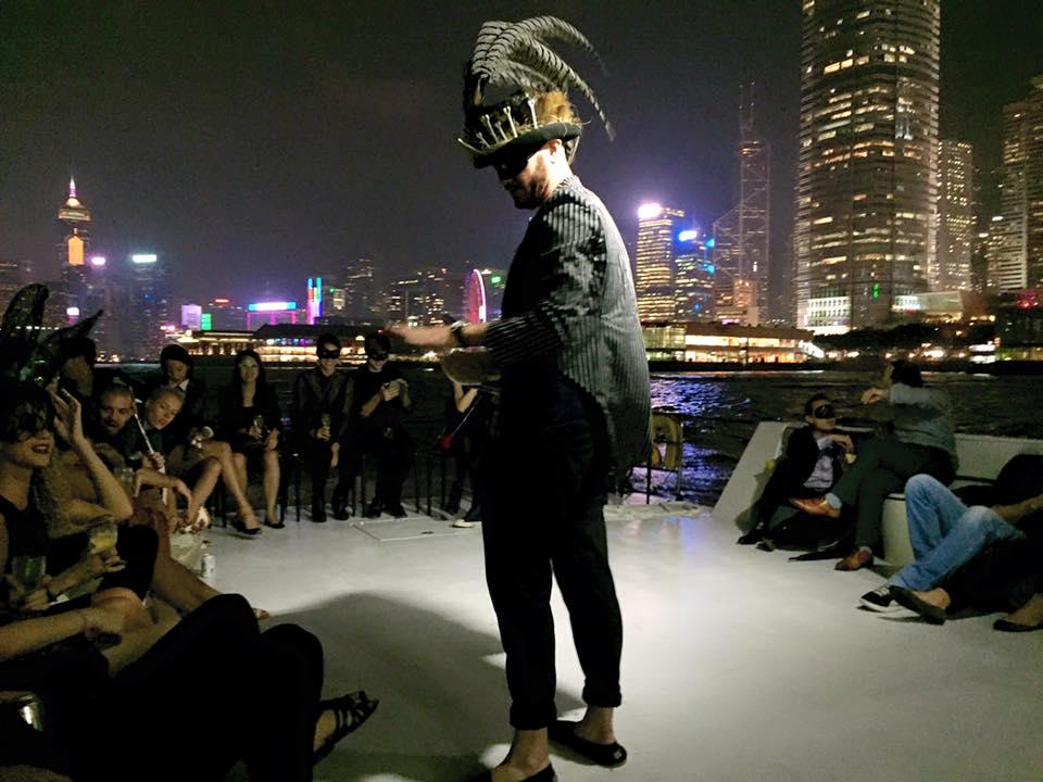 Audience members board a doomed ship in SE7EN Deadly Sins Hong Kong