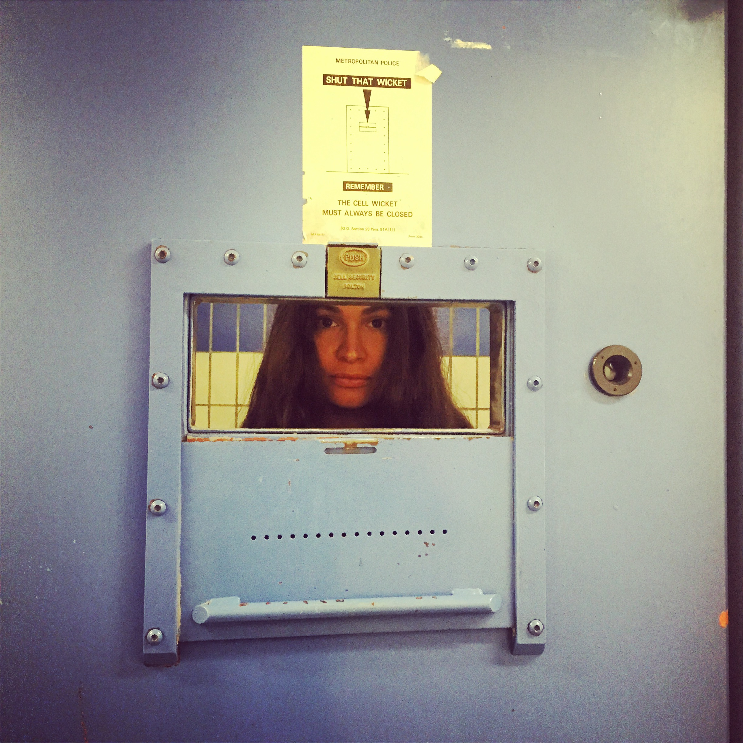 Audiences are locked up in Evanescent in police cells in London