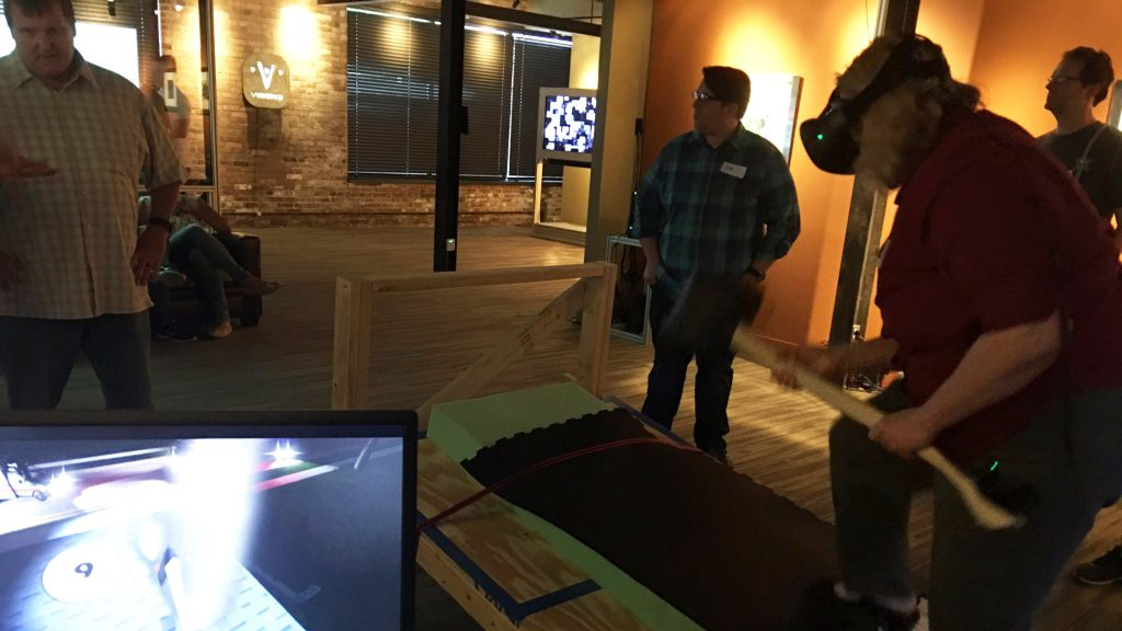 Experience Makers participated in three VR demos of actual projects.