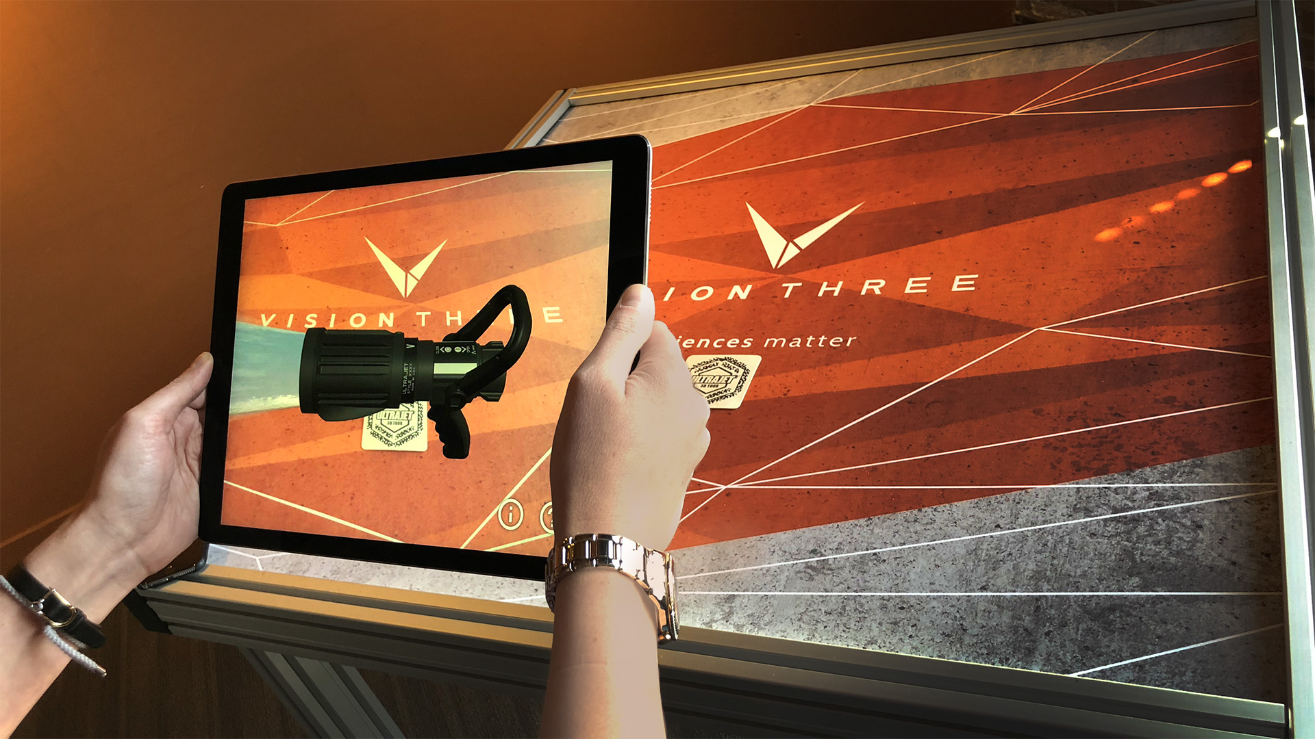 AR offers the opportunity to present and demonstrate a product anywhere, any time.