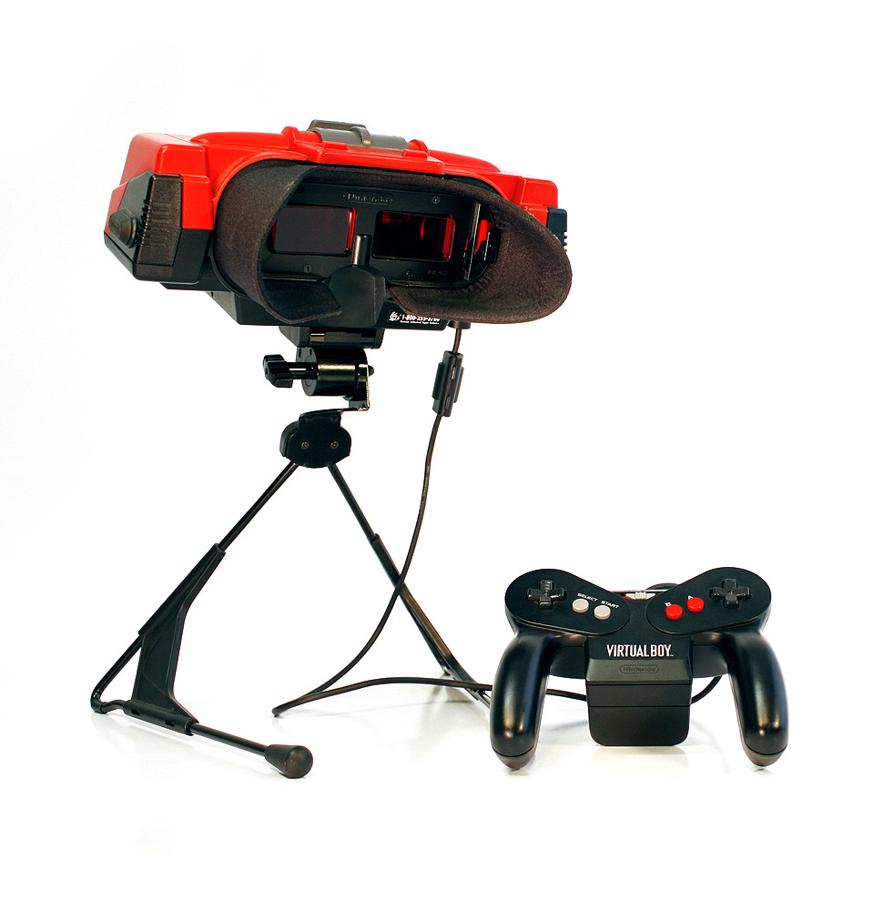 "The hardware of Nintendo's ""Virtual Boy"" delivered monochromatic visuals, uncomfortable ergonomics, and little else."