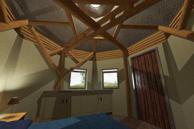 bamboo + ecobricks -