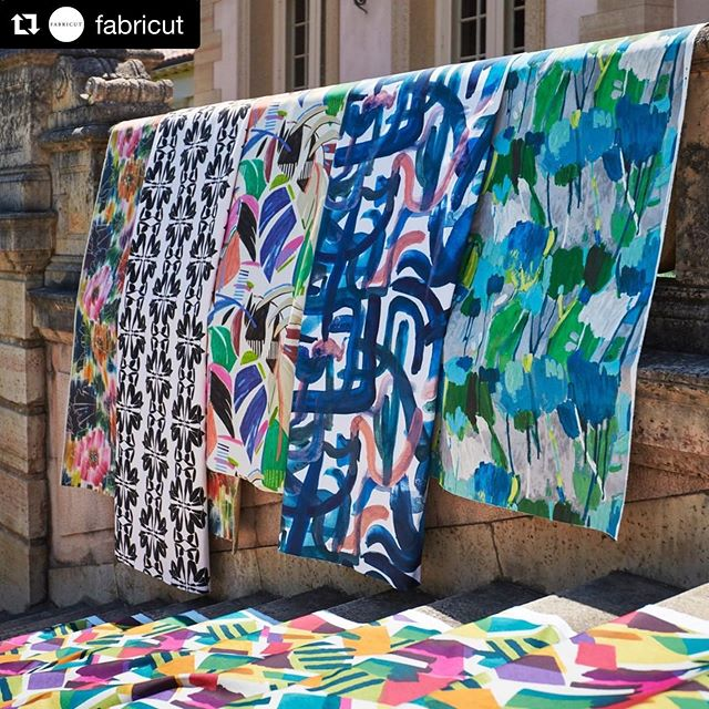 #Repost @fabricut with @get_repost ・・・ Prints, much like art, are an emotional experience expressed on a textile canvas. Inspired by some of the great art masters, our new Artfully Modern collection celebrates the visceral experience of art and print. . .See my stories for more beauties from the trunk show this morning. . Shot on location at Tulsa's beautiful @philbrookmuseum