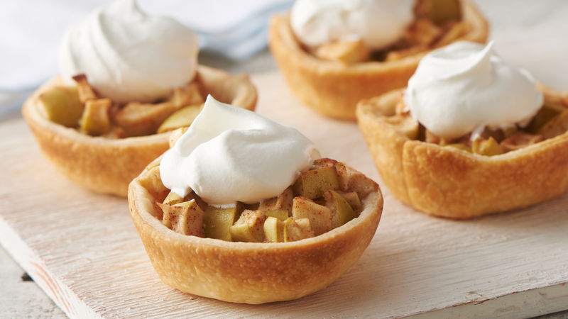 """These can also be made in cupcake muffin tins to create a """"mini"""" variation."""