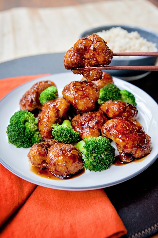 Enlightening Entrees! - Garnish with sesame seeds and scallions!