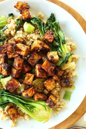 Enlightening Entrees! - Serve with white or brown rice or quinoa, and a side of bokchoy!