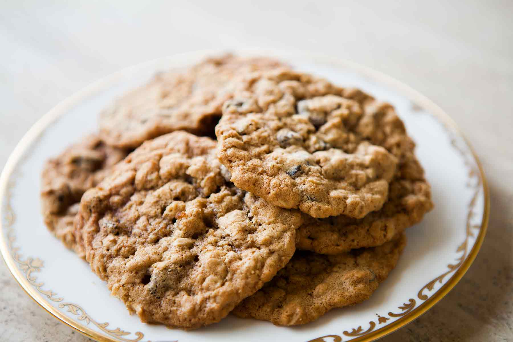 """Delightful Desserts! - These cookies make you say, """"Who needs an oven?"""" Easy and delicious, you can go the raisin route, or if looking for an even more decadent treat, go for chocolate chips! Either way, they're yummmmmmy!"""