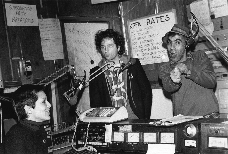 KPFA, DJ Tim Yohannan, Jeff Bale &Ruth Schwartz, Maximum RocknRoll