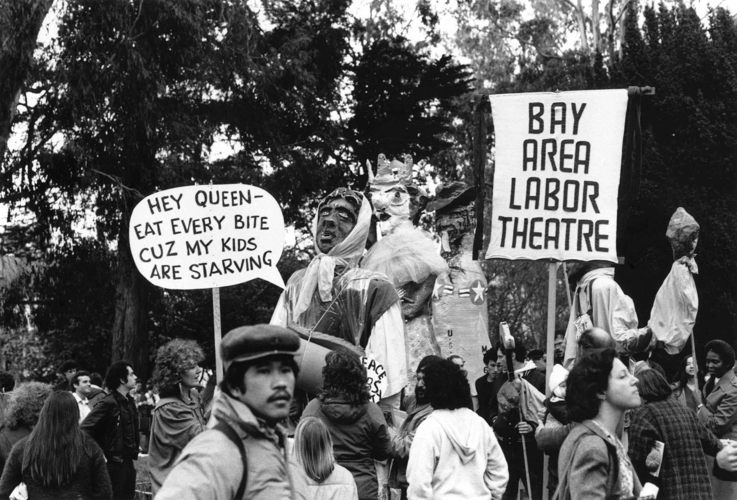 Protest in Golden Gate Park
