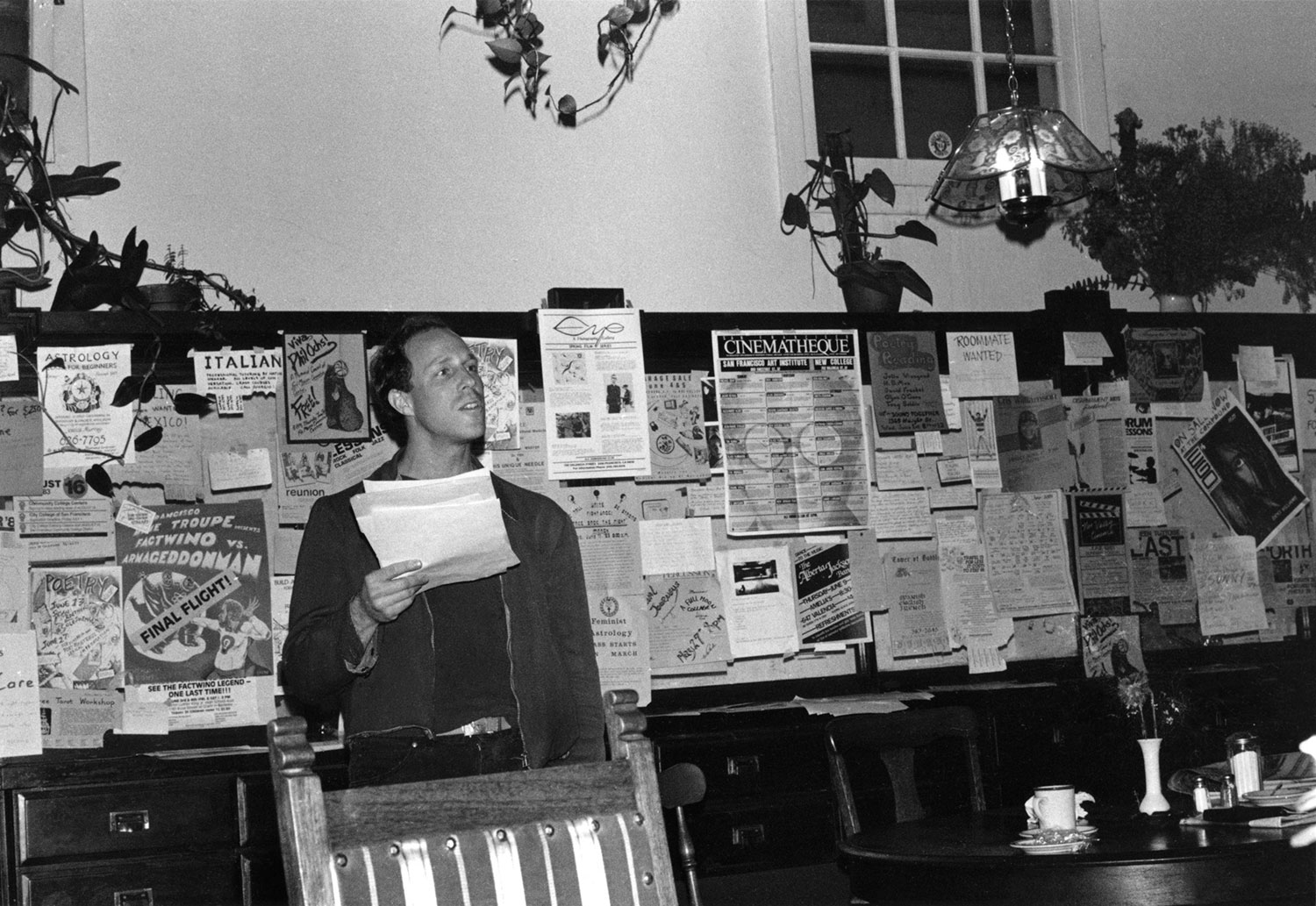 Ken Tray, Poetry Reading,Cafe Picaro