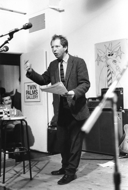 Cary Tennis, Spoken Word Art, Twin Palms Gallery