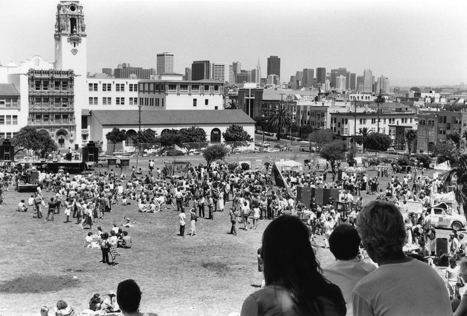 The End of the World's Fair, May 12, 1984 Mission Dolores Park