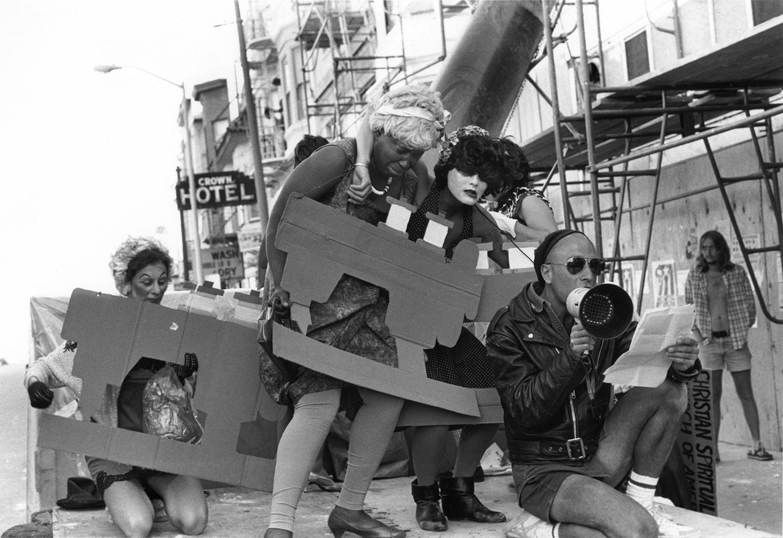 Urban Rats Street Theater Protesting Sweatshop, Valencia Street