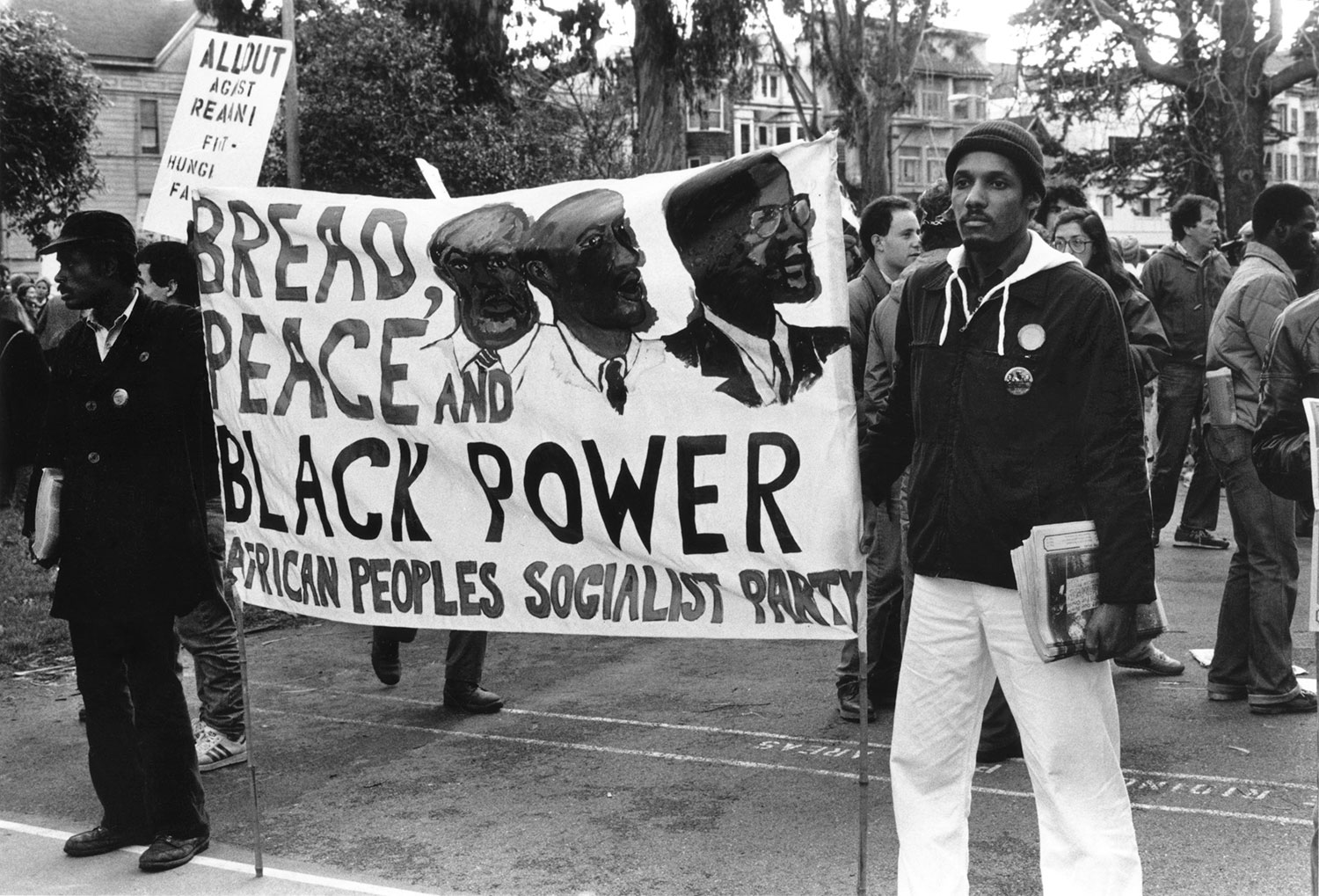 African People's Socialist Party Demonstrate