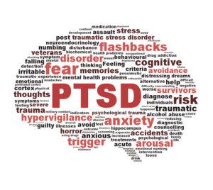 Text animation photo of PTSD