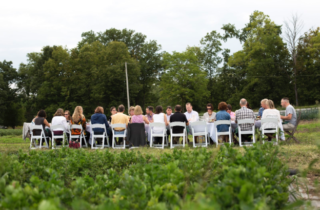 Green Wagon Farm hosts a series of unique farm-dinners that showcase seasonal eating at its best (photo).