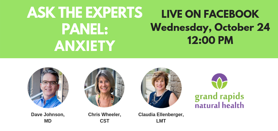 October 2018 Ask The Experts Panel Event: Anxiety