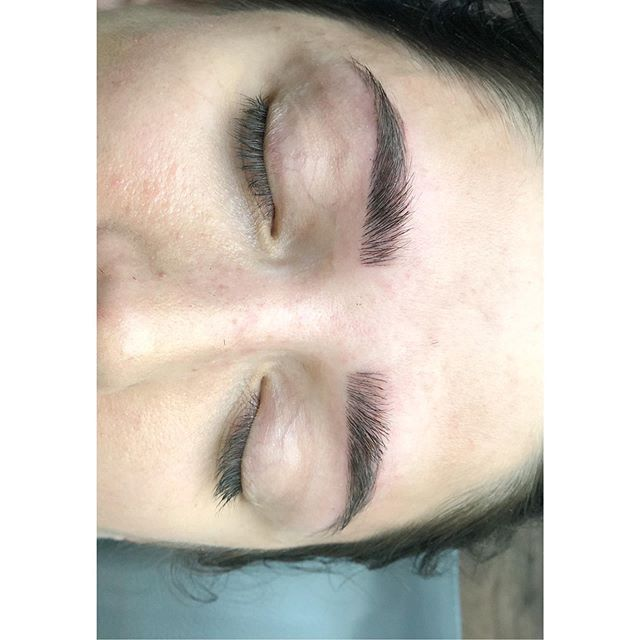 Remember these brows from a few posts back? They came in for their 6 week touch up yesterday. This is Microblading. ❤️ go check out the original before and after. Also if you swipe on this post, I show a close up of what her healed results look like prior to me touching them up. . . . #microblading #brows #eyebrows #esthetician #giveaway #healthy #permanentmakeup #beauty #makeup #organic #pmu #grandrapidsmi #westmichigan #beautyblogger #experiencegr #kpsessentials