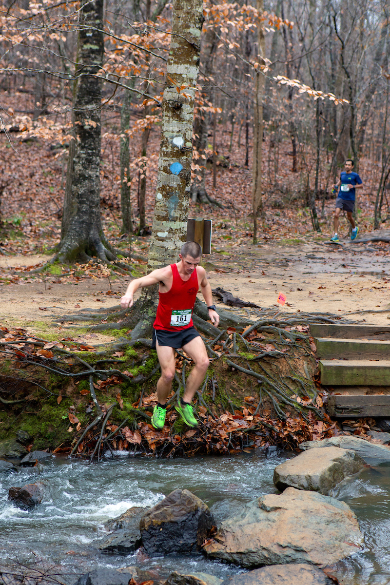 Race Across Durham - Rock Hopping