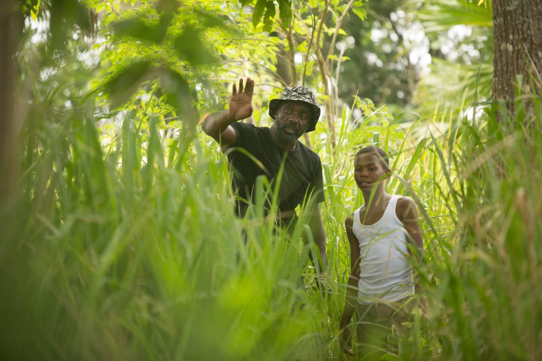 Idris Elba behind the scenes of his directorial debut 'YARDIE'