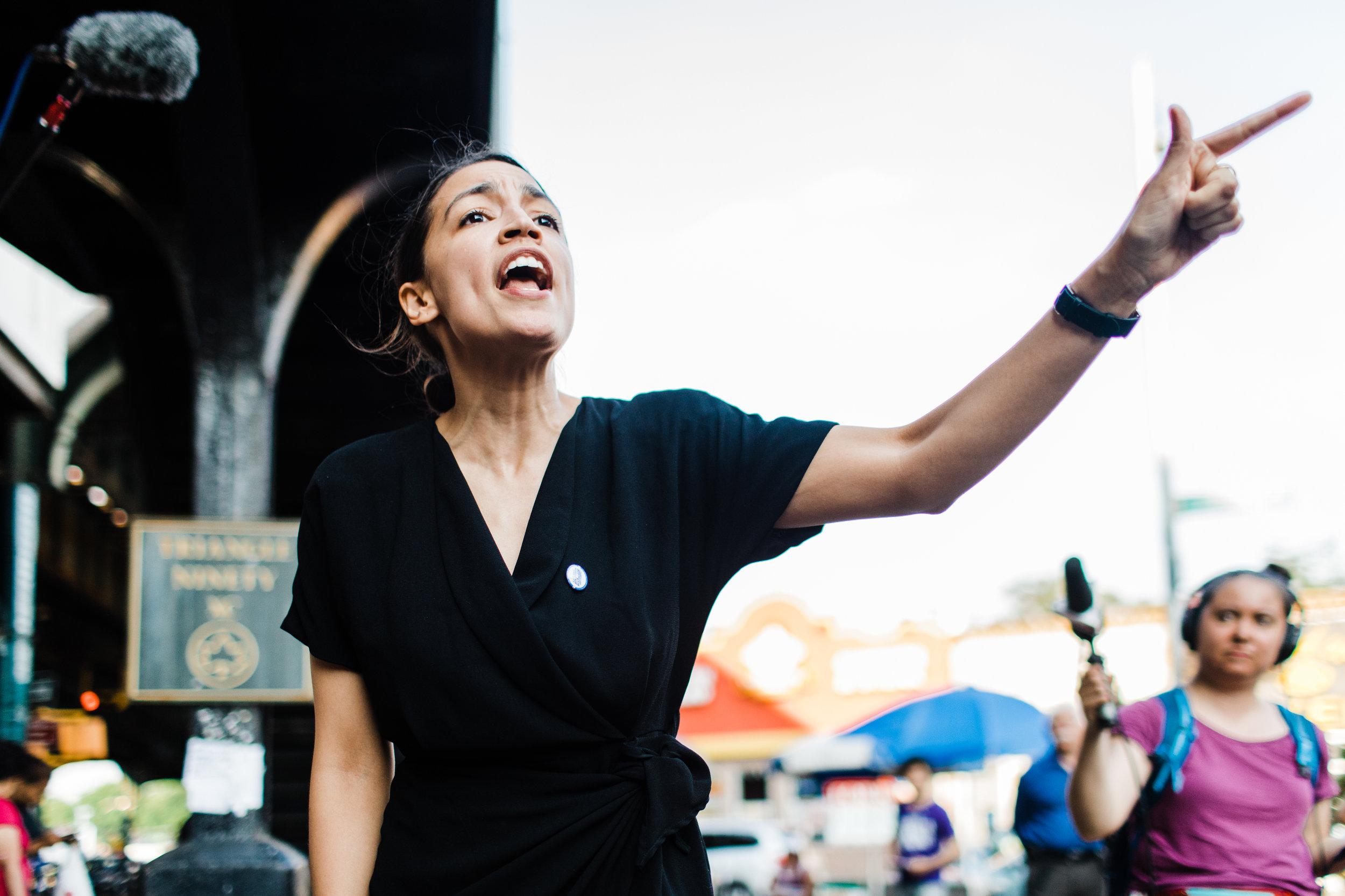 Alexandria Ocasio-Cortez | Photography by Corey Torpie