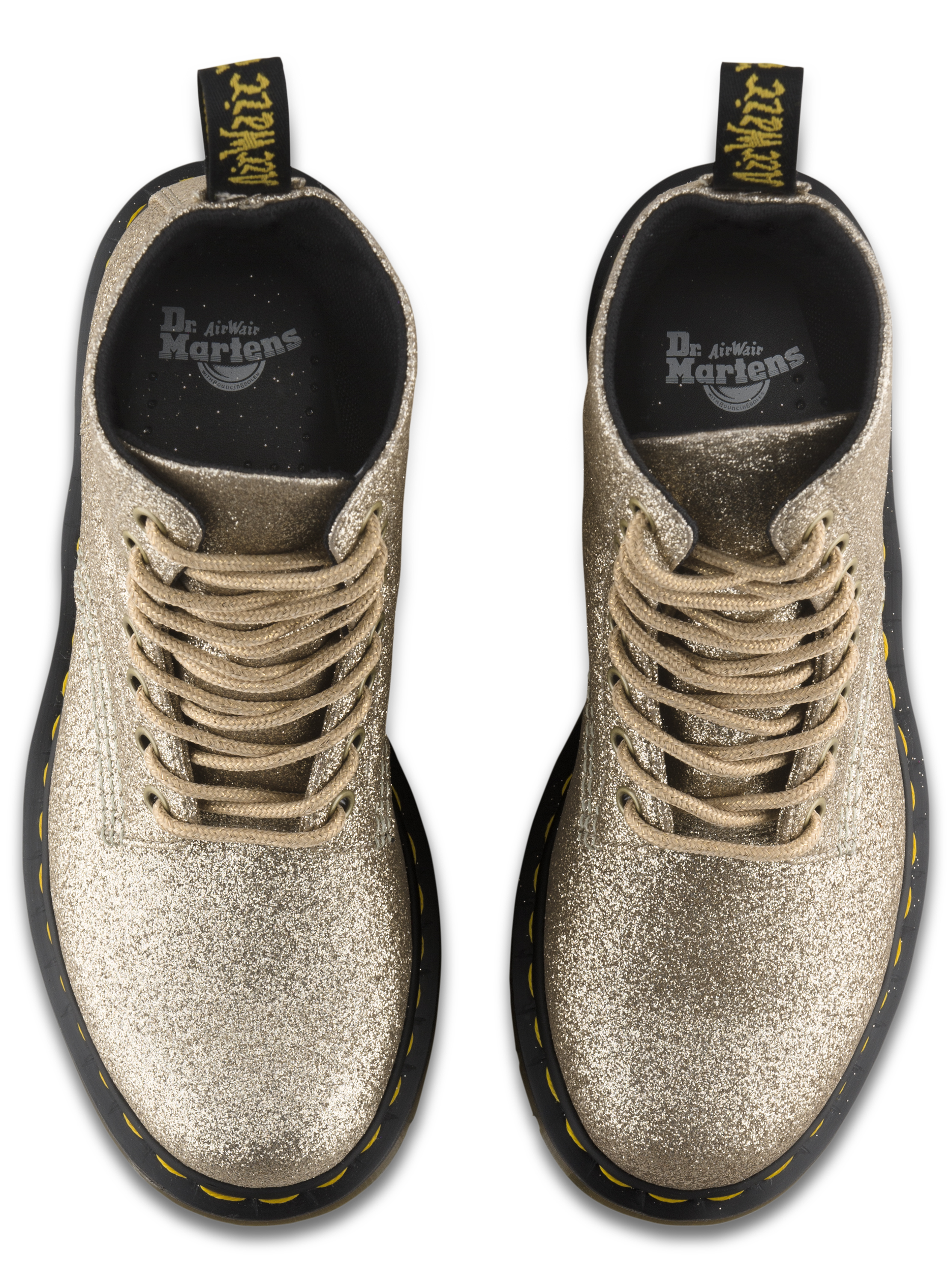 Put a little sparkle in your step with these glittery Dr