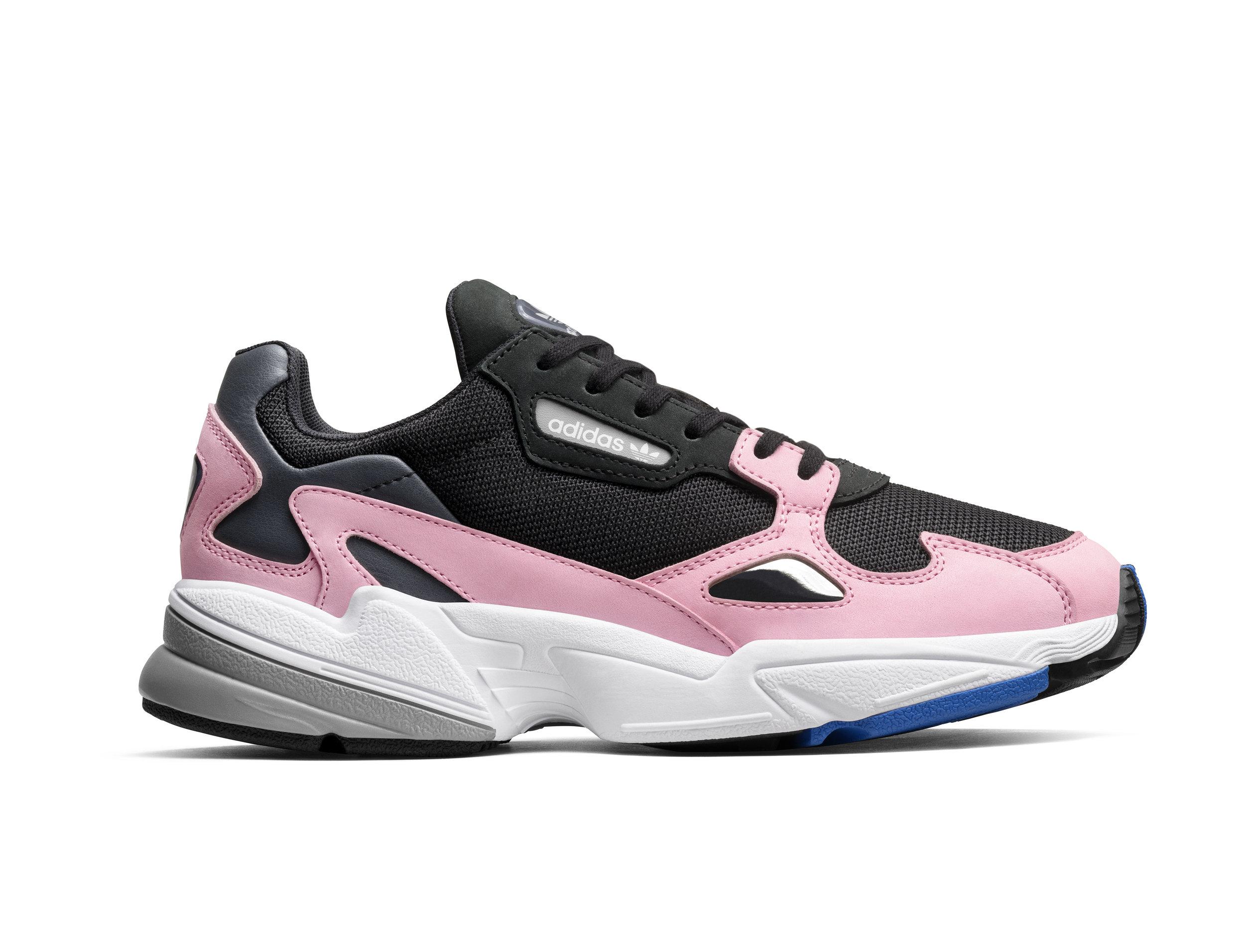 adidas Originals Falcon | Core Black & Light Pink