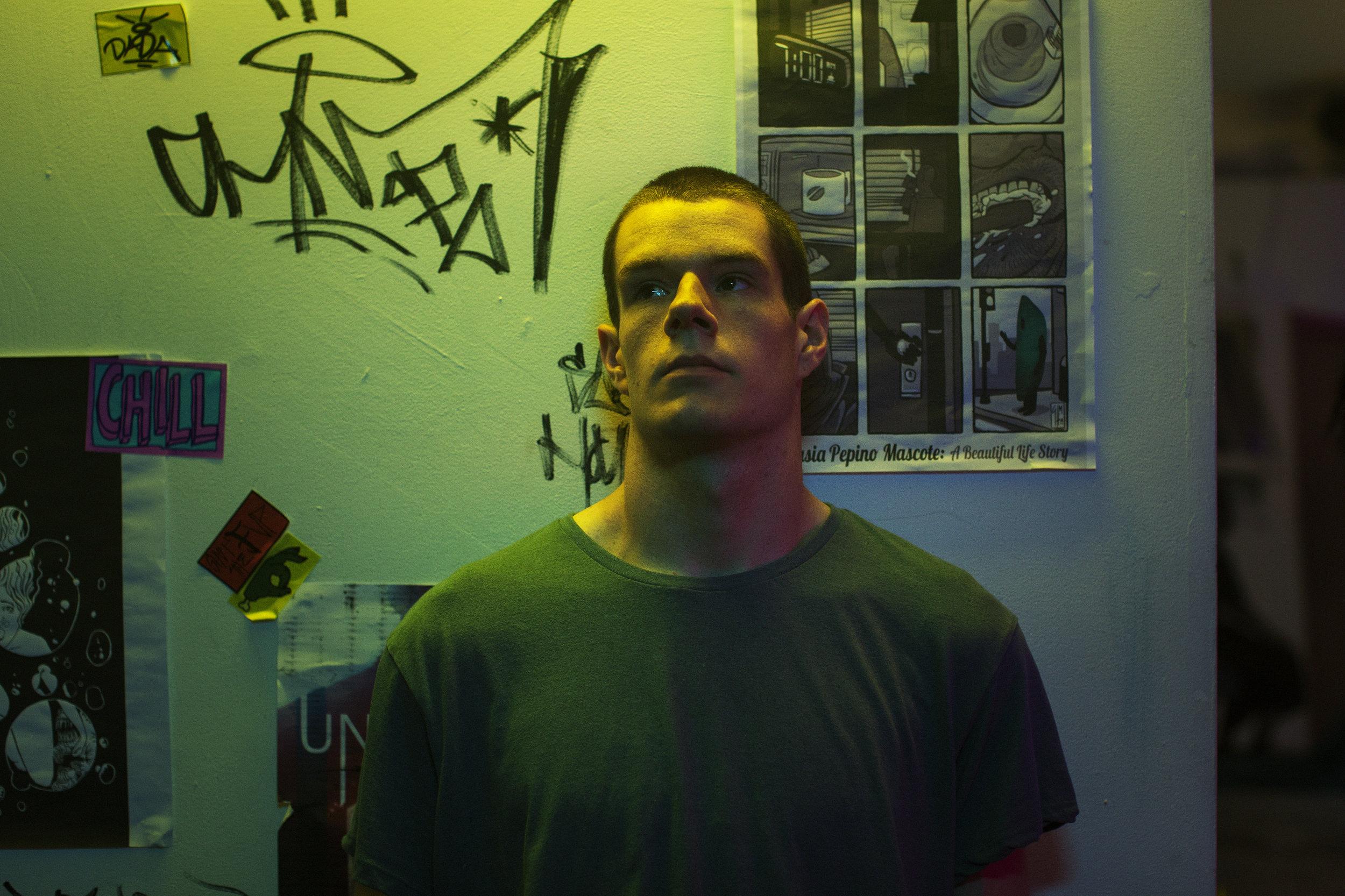 Connor Swindells as 'Adam' | Photography by Marc Hankins