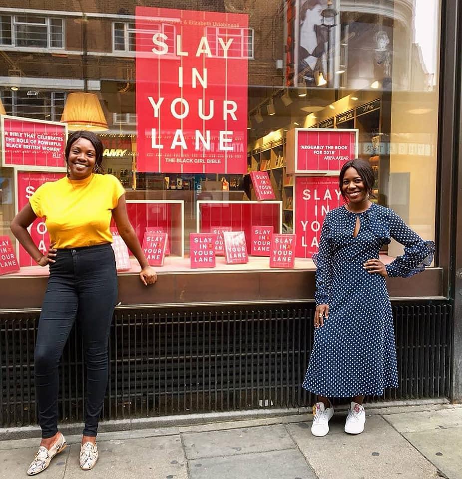 Yomi Adegoke and Elizabeth Uviebinené, authors of  'Slay in Your Lane'
