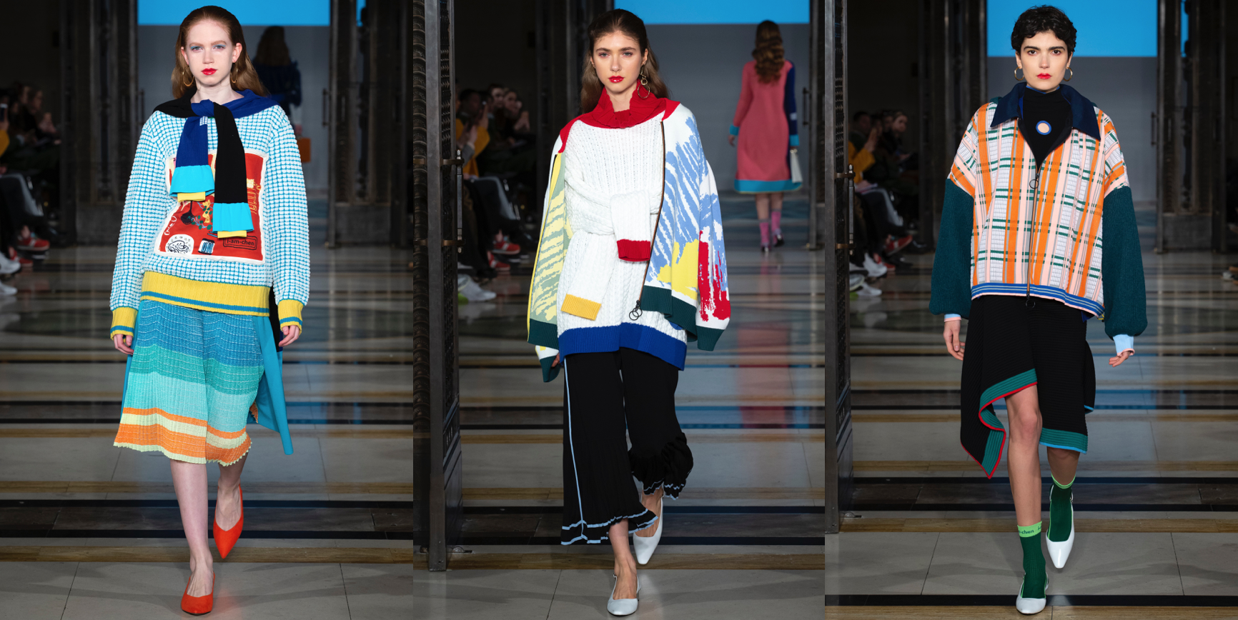 i-am-chen AW19 Collection as shown at Fashion Scout