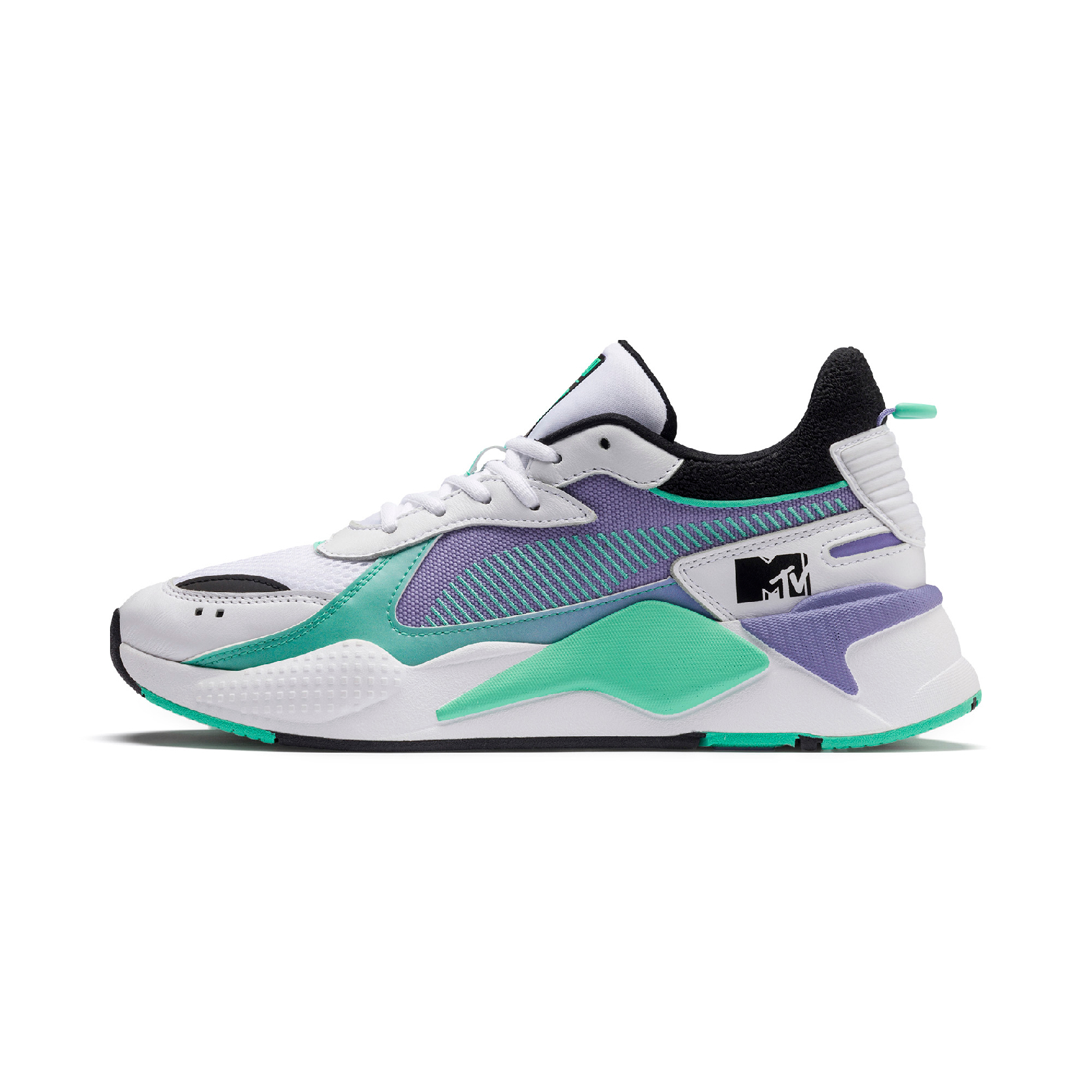 PUMA RS-X Tracks MTV Gradient Blaze in PUMA White – Sweet Lavender | £95 RRP