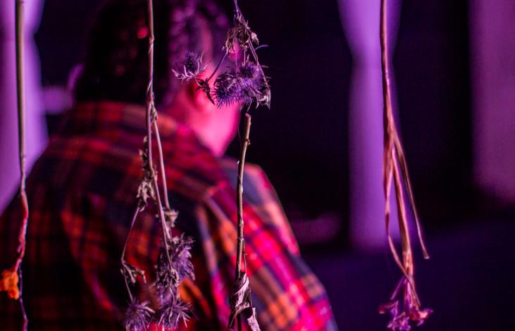 Funeral Flowers | Photography by Kofie Dwaah
