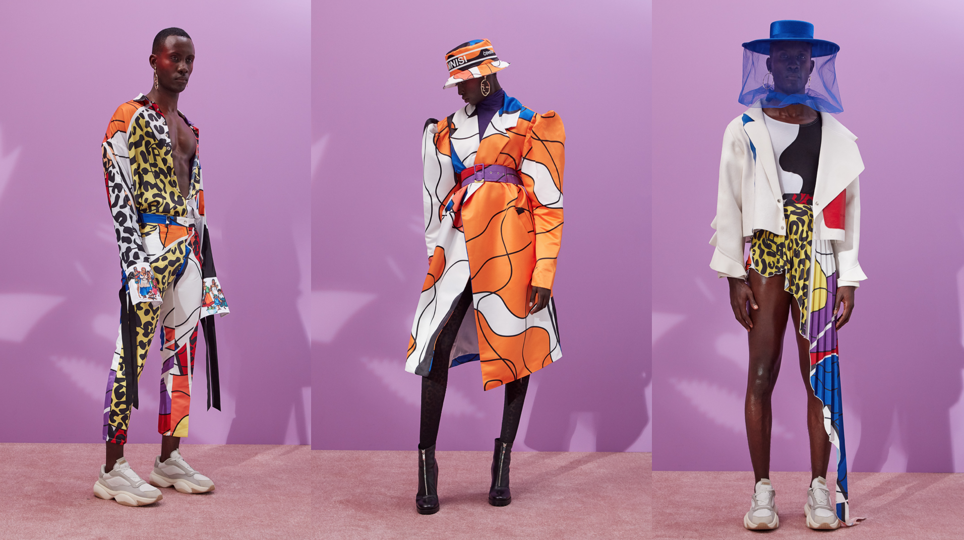 Looks from RICH MNISI's MILORHO '19 collection