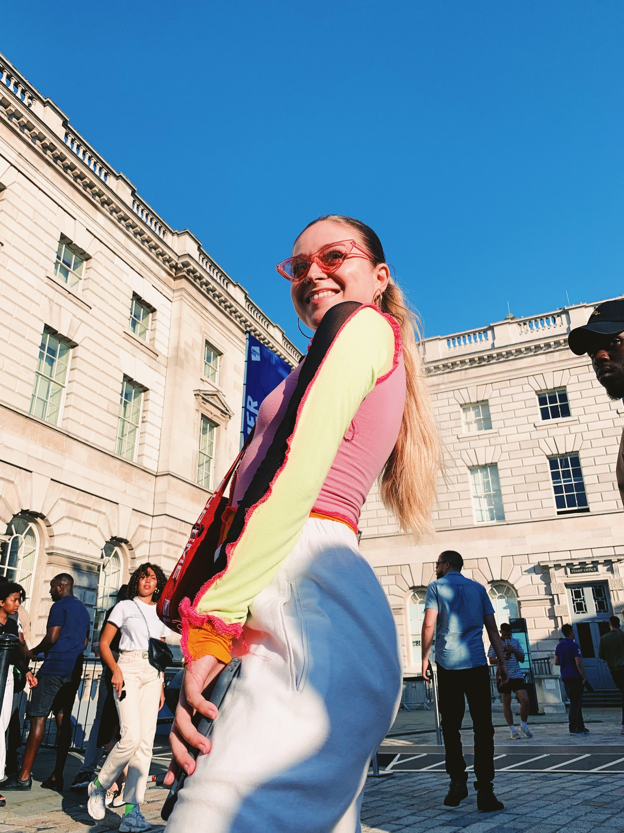 Photographer Vicky Grout, at Somerset House: Summer Series with Soulection | Shot on iPhone by Almass Badat