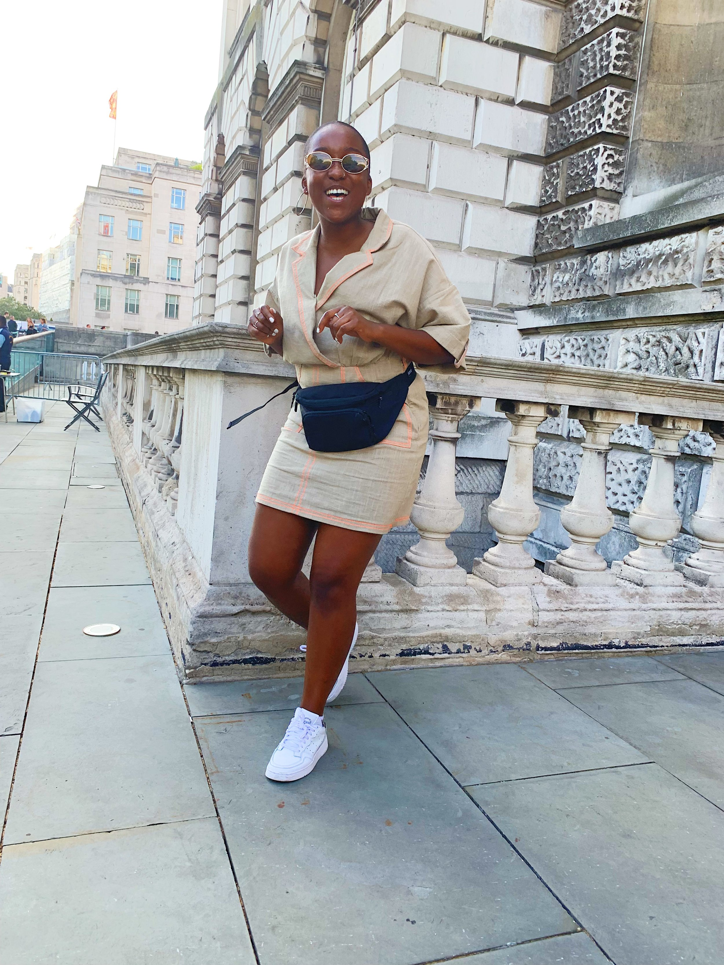 Antonia Odunlami of Worldwide FM + Reprezent Radio at Somerset House: Summer Series with Soulection | Shot on iPhone by Almass Badat