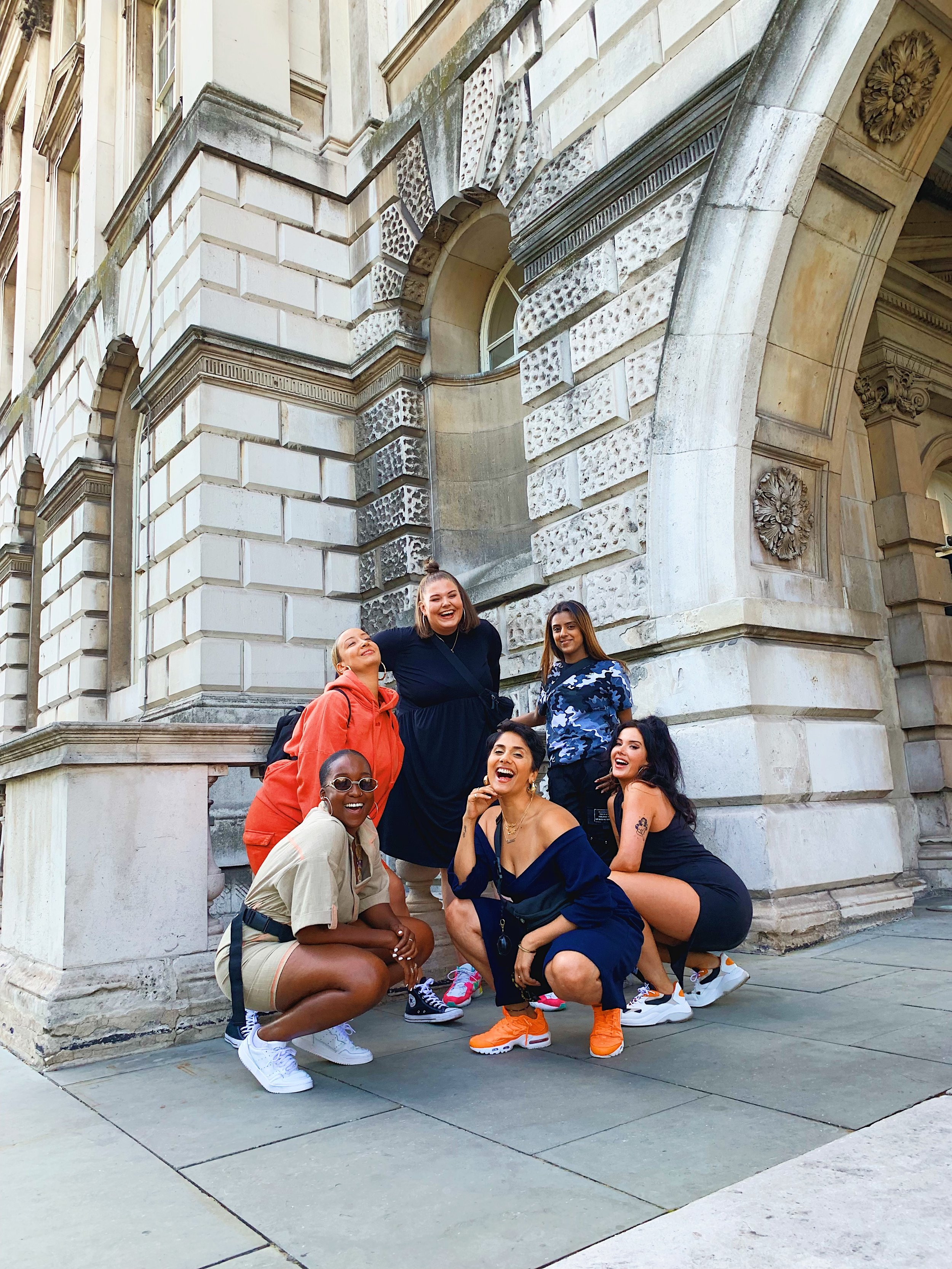 Antonia Odunlami, Rebecca Judd, Almass Badat, Shivani + Jessica Murphy at Somerset House: Summer Series with Soulection
