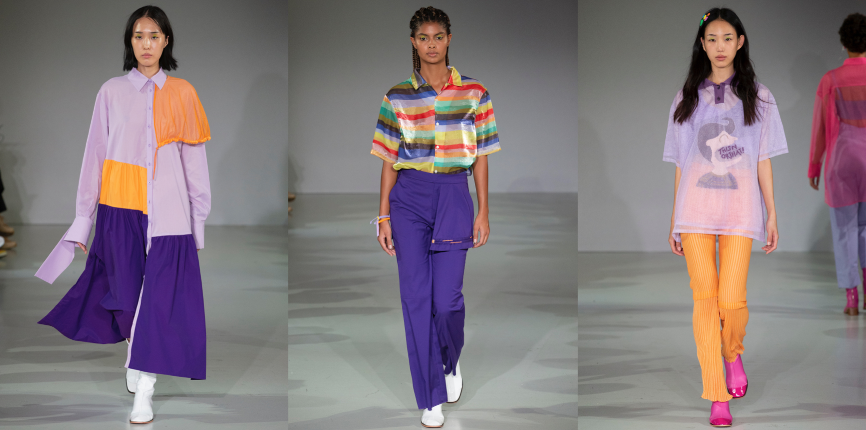 London Fashion Week Spring Summer 2020 Thisnorthat Fashion Show Dstngr