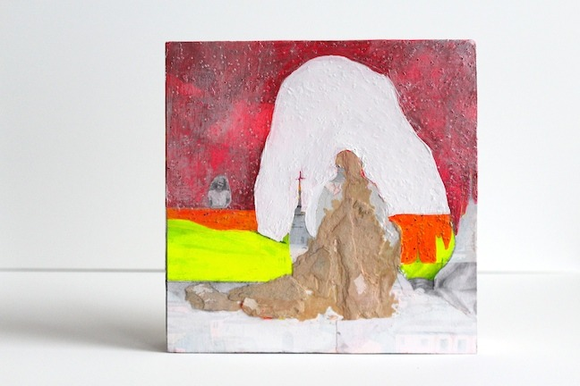 """Yer Holy Mother   8"""" x 8"""" x 1.5"""" 