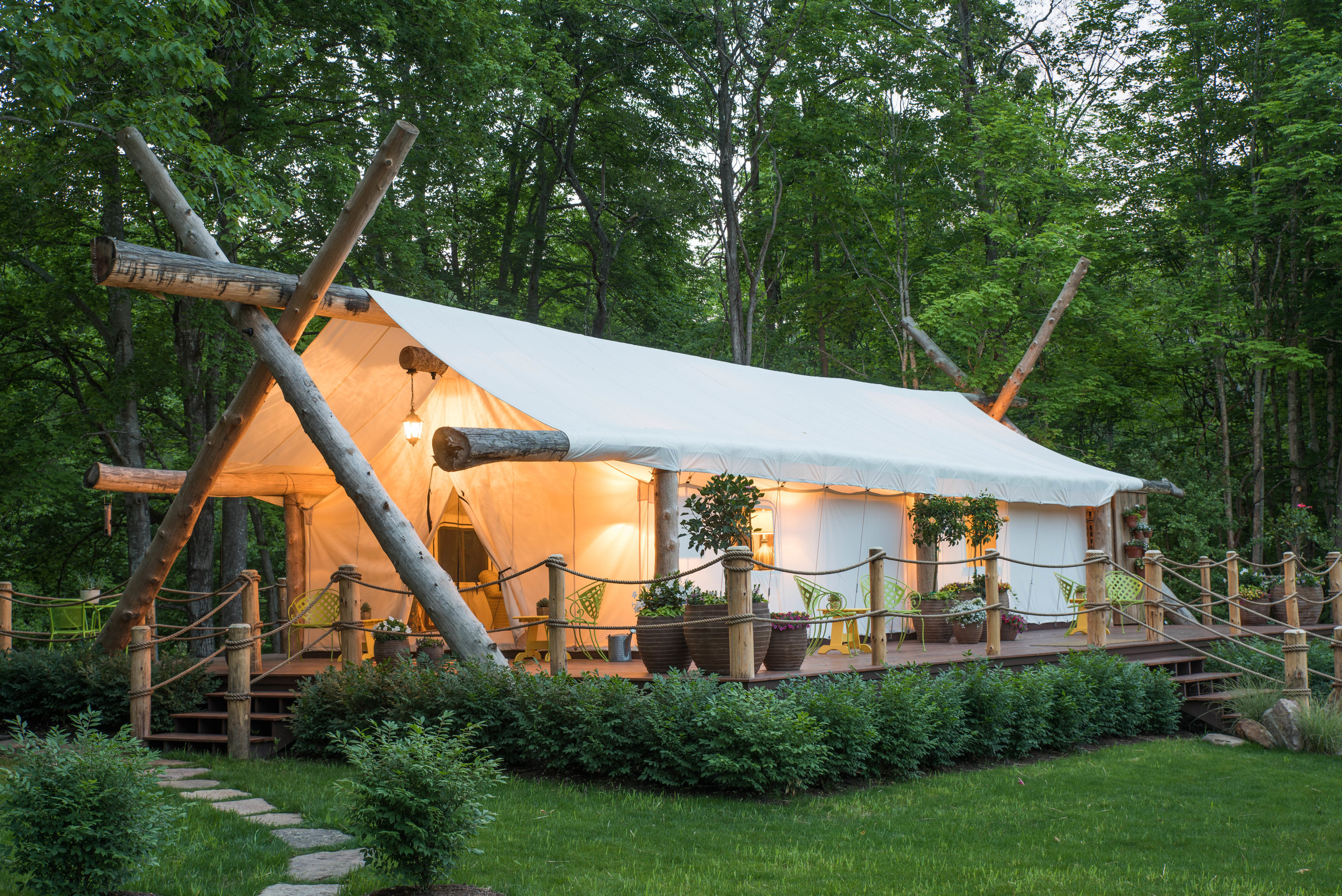 Glamping The Depot Lodge