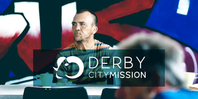 Derby City Mission branding project by The Apple Yard