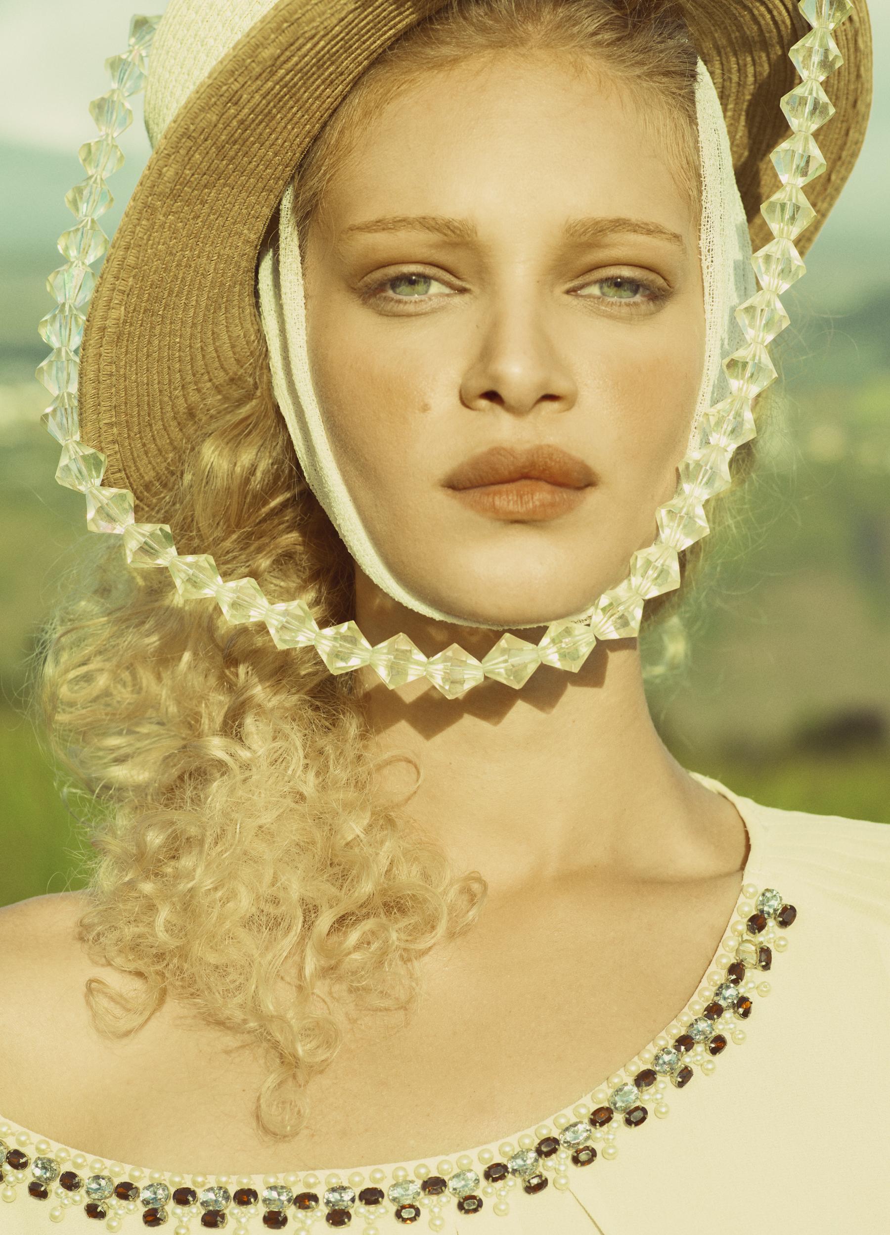 Look5 blouse- Zara, skirt- Kooples-1.jpg