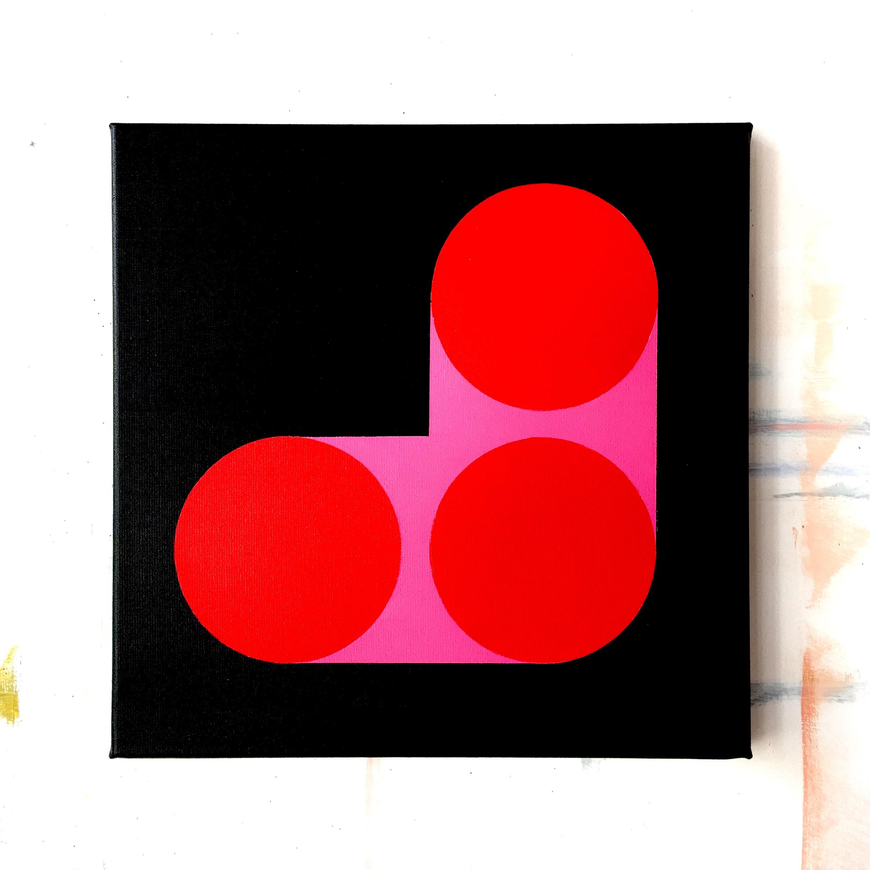 koomen, three red, 2017, acrylic on canvas, 40 x 40 cm.jpg