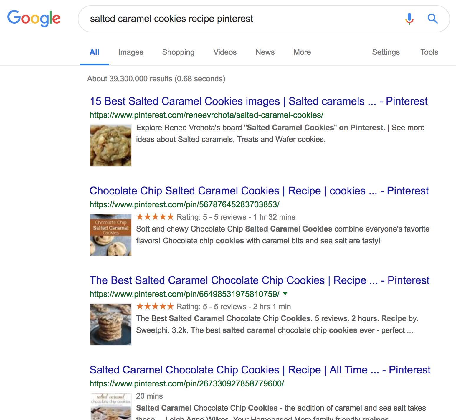 salted caramel cookies - #pinterest #pinterestva #virtualassistant #google