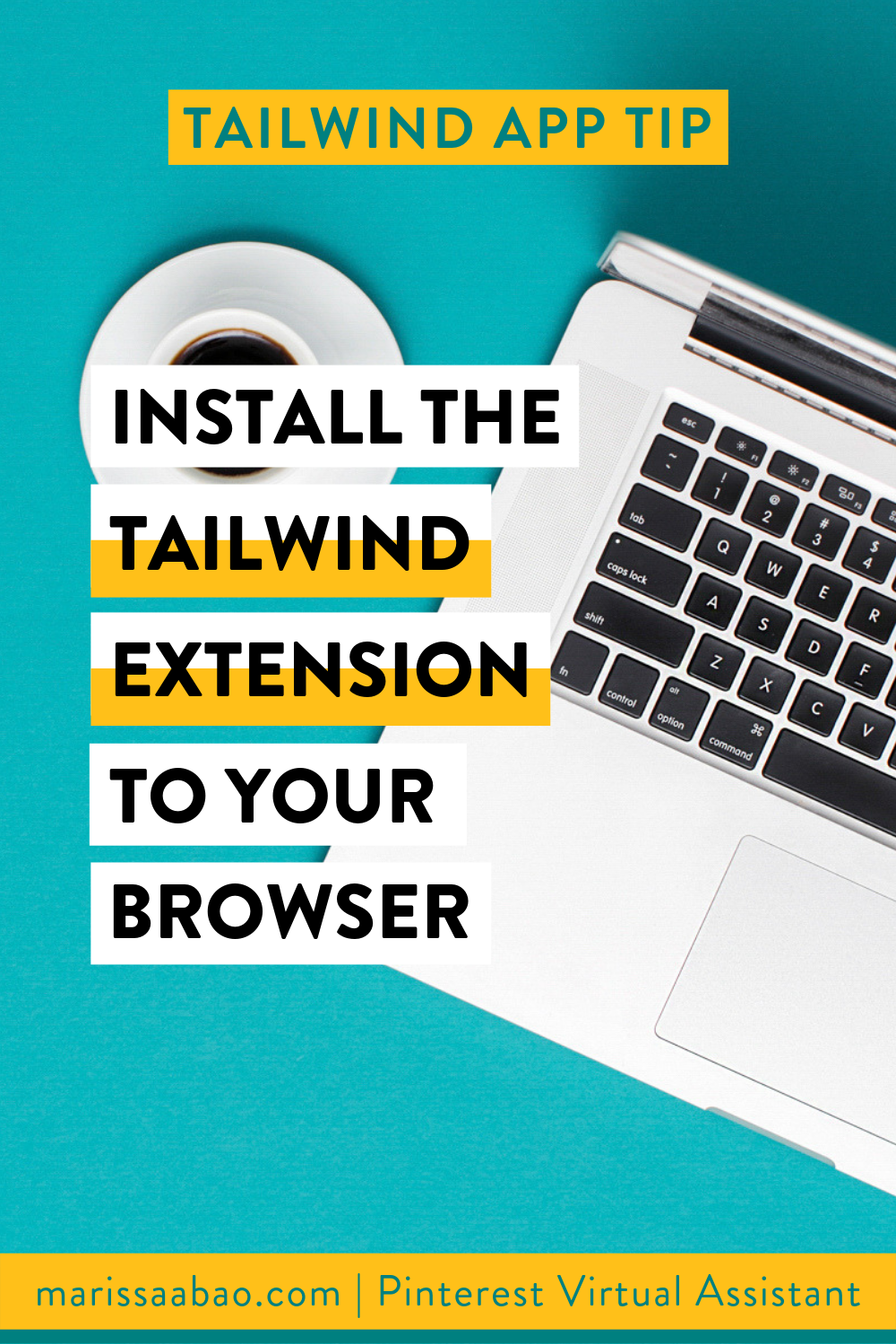Tailwind App Tip: Install the Tailwind Extension for your browser - #tailwindapp #virtualassistant #pinterestvirtualasistant #pinterestva #pinterestmarketing