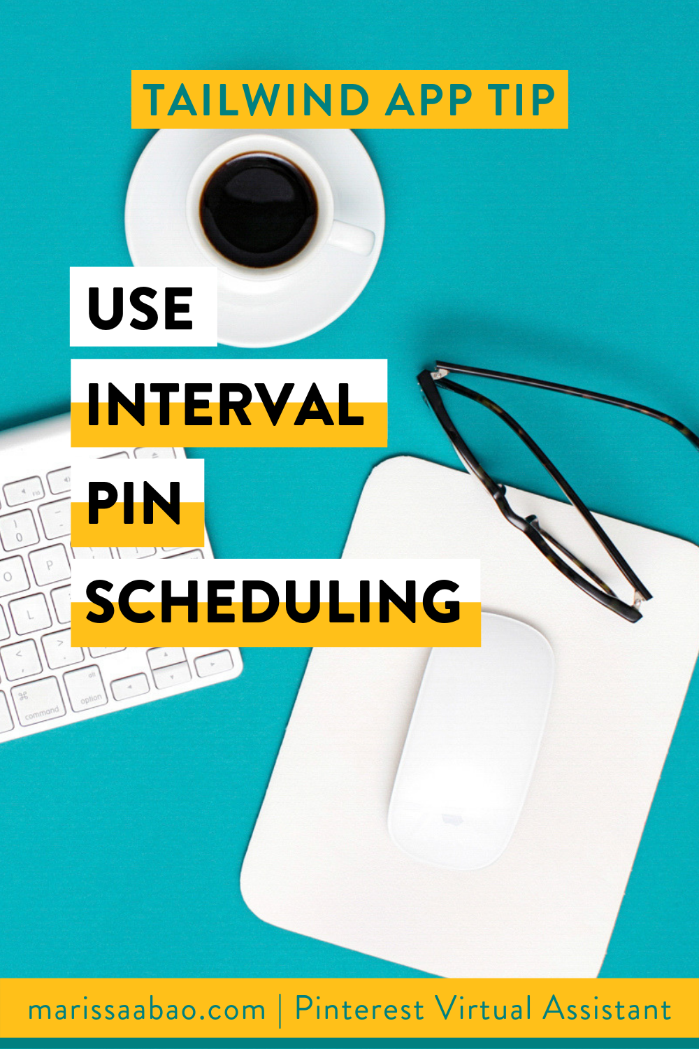 Tailwind App Tip: Use Interval Pin Scheduling - #tailwindapp #virtualassistant #pinterestvirtualasistant #pinterestva #pinterestmarketing