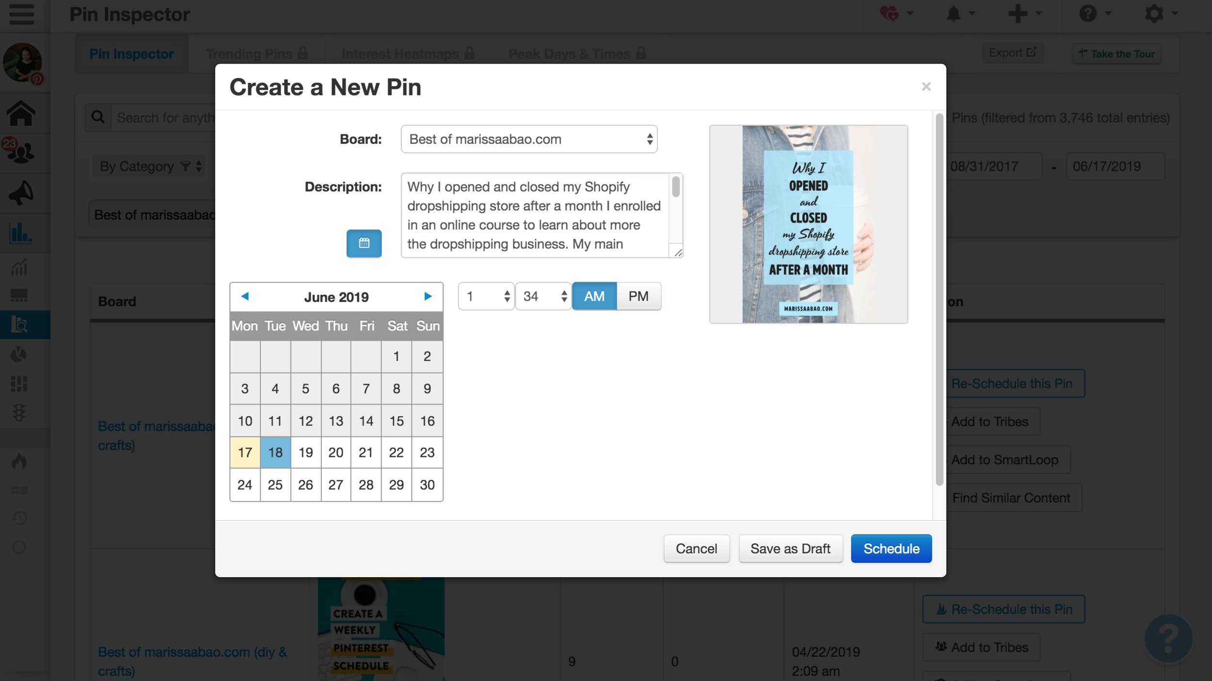 How to Use Tailwind Pin Inspector to Find Your Best Pins #tailwindapp #pinterestva #pinterestvirtualassistant #virtualassistant