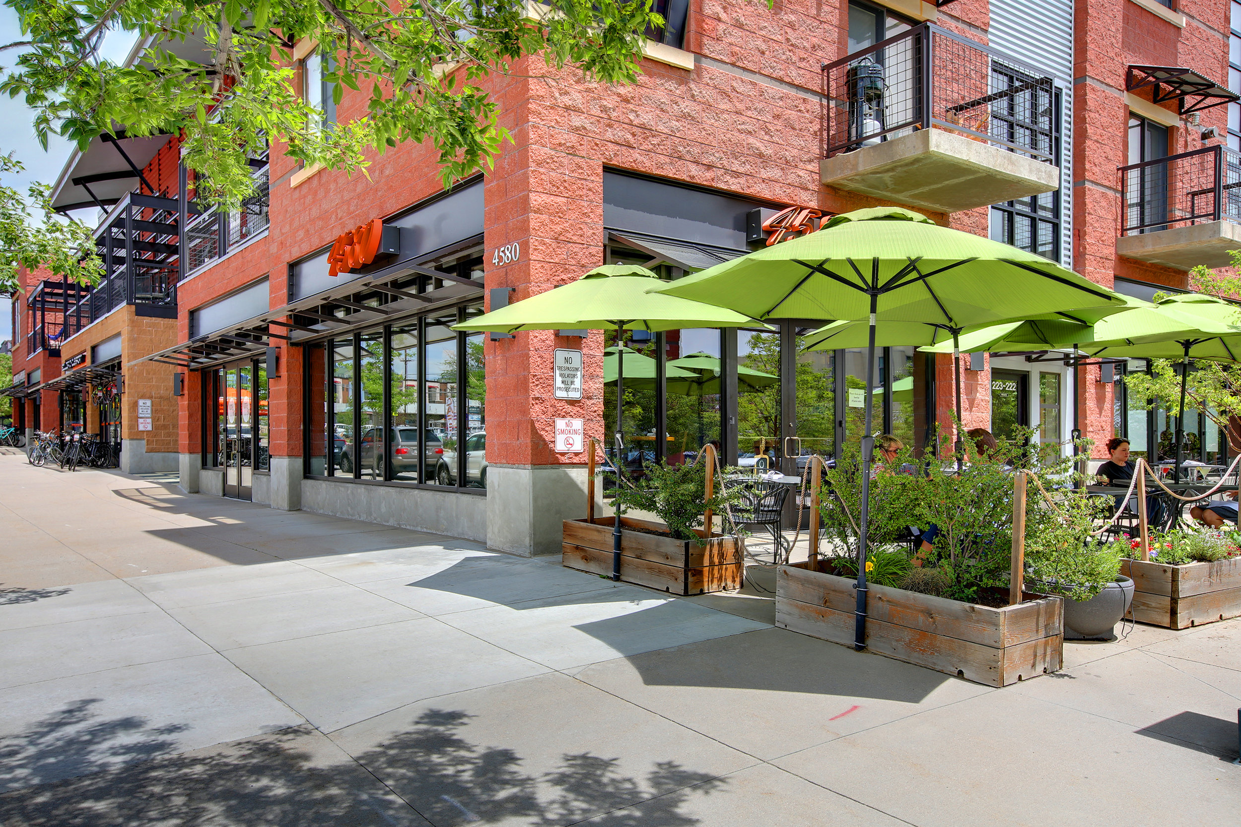 Looking for a culinary treat? - For a quick bite nearby Bacco Mozzarella Bar offers relaxed al fresca dining, or stop by Proto's for north Boulder's best Pizza!