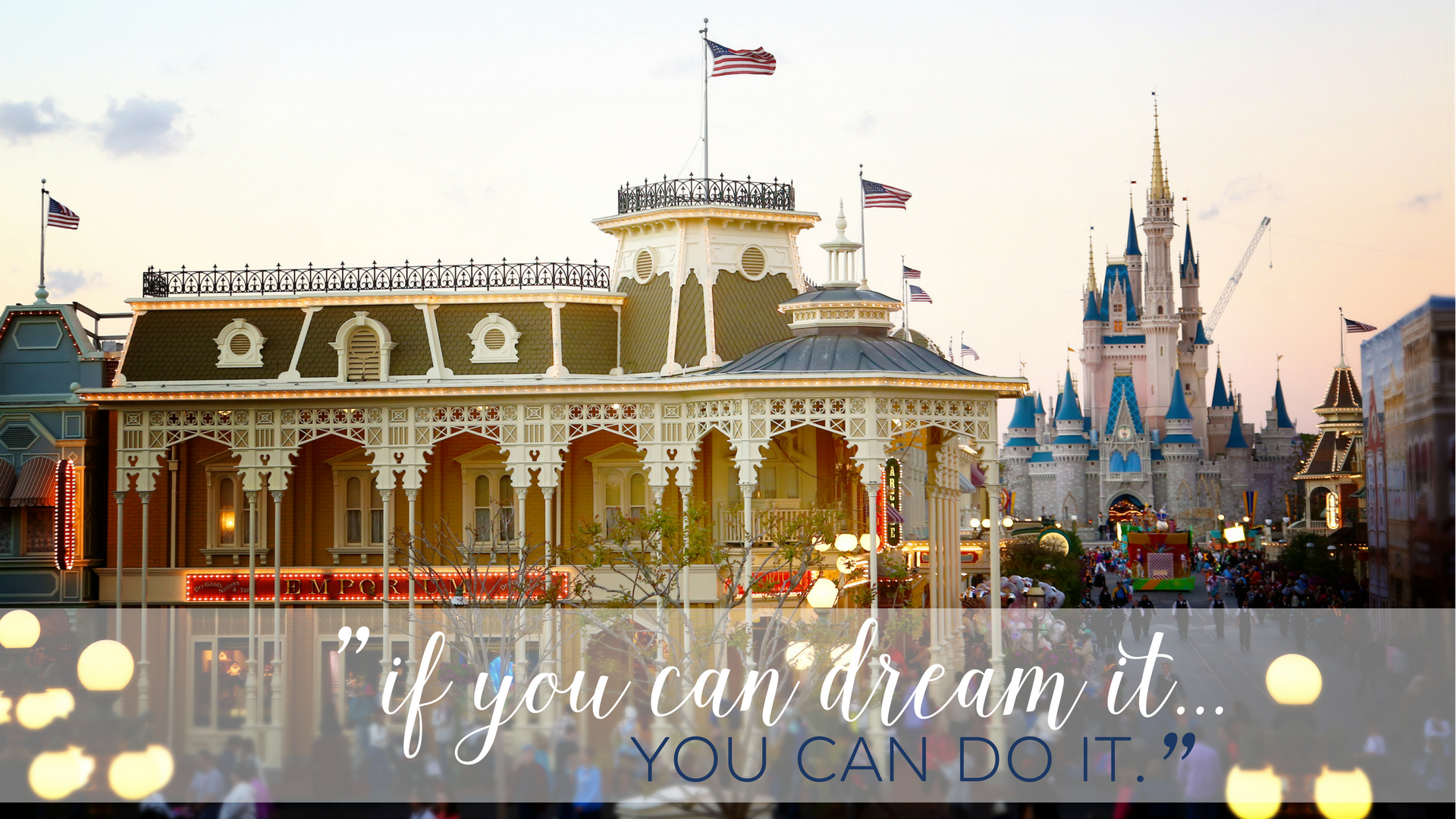 """if you can dream it...YOU CAN DO IT."""