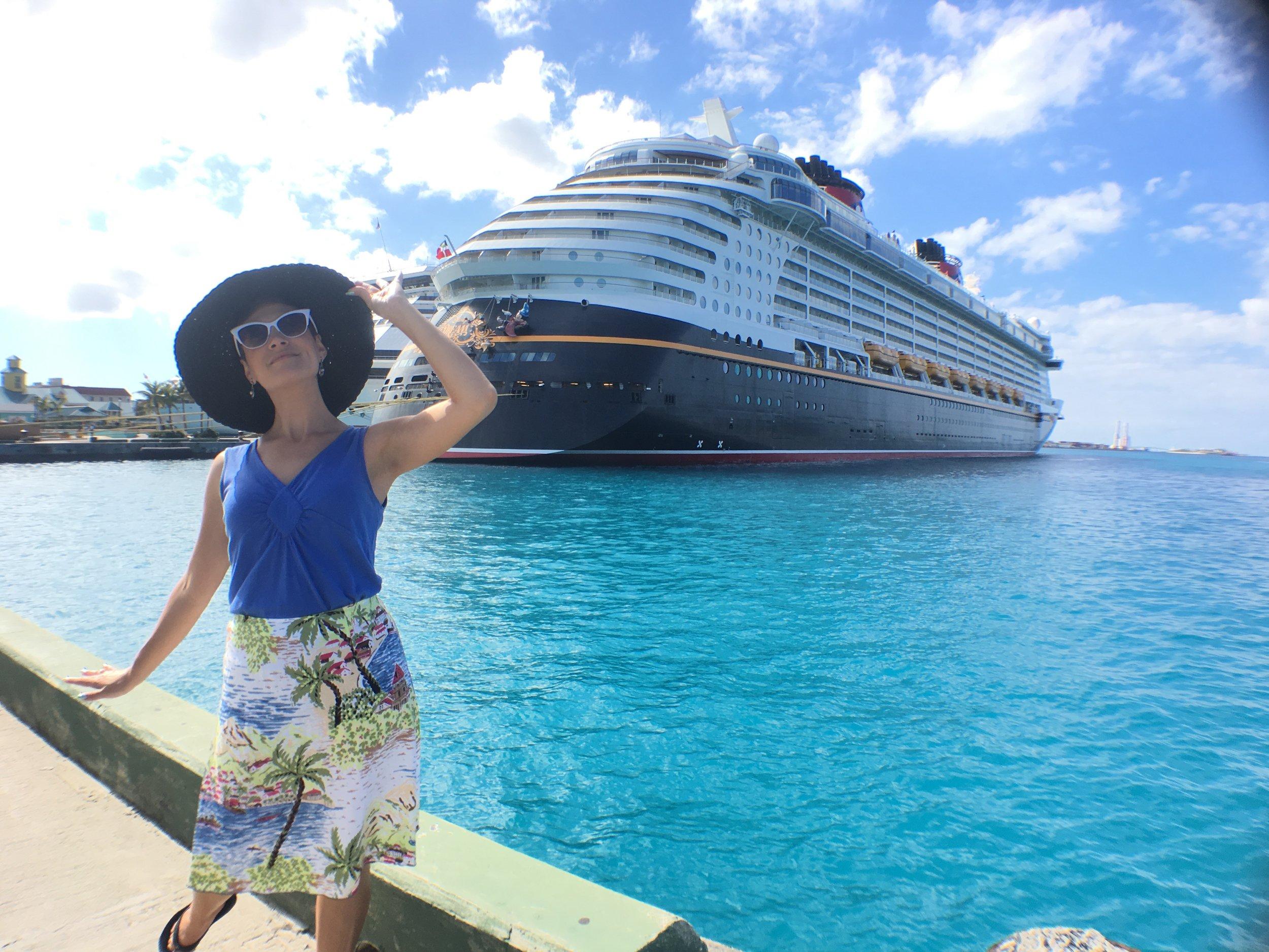 Disney Dream Docked in Nassau Bahamas